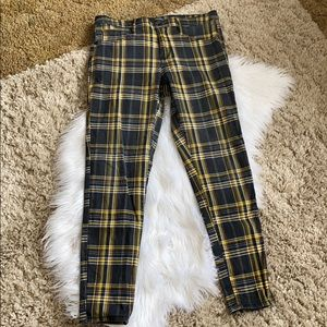 🤘🏼wild fable plaid clueless style skinny jegging